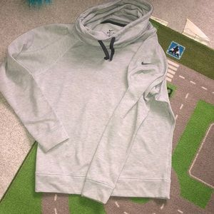 nike cowl neck funnel sweater size small